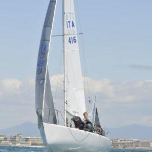 (Settimana Velica Internazionale - Livorno - Regata J24 - Day2)