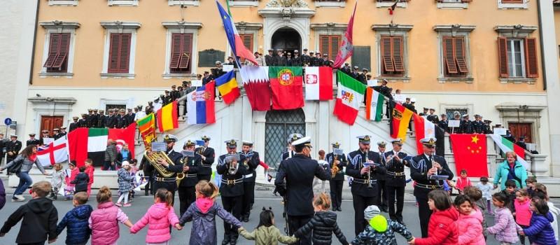 Settimana Velica Internazionale_Parata delle marine estere