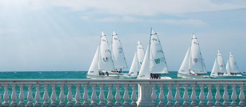 Livorno. Settimana Velica Internazionale. Naval Academies Regatta