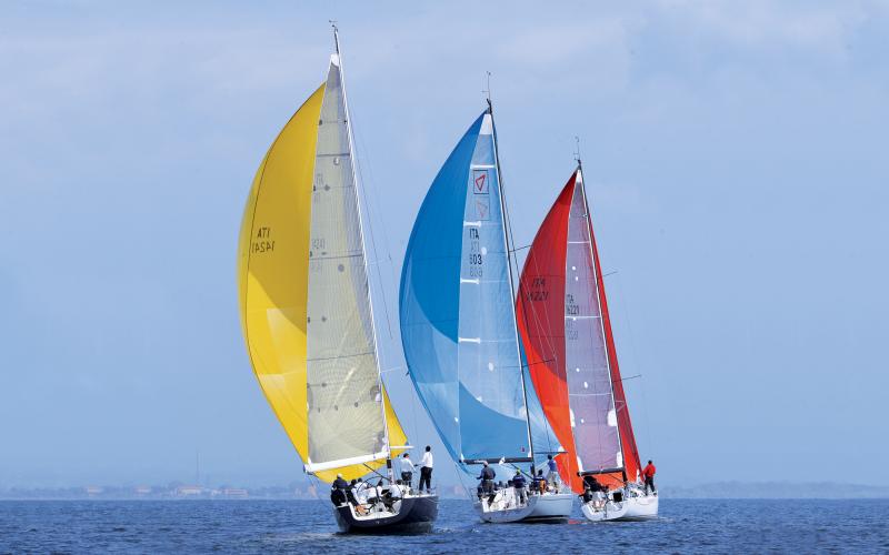 (Settimana velica Internazionale - Accademia Navale • Città di Livorno)