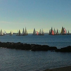 (Partenza Faro's Cup_regata CNC)